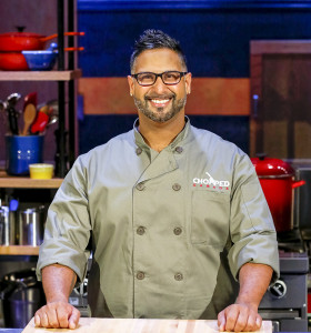 Paresh Thakkar is a competitor on the hit Food Network show Chopped Canada. Photo courtesy of Chopped Canada